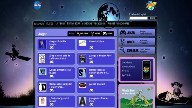juegos NASA
