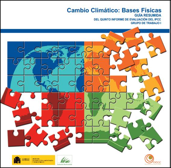 5º Informe sobre Cambio Climático, Bases Físicas (1/2)