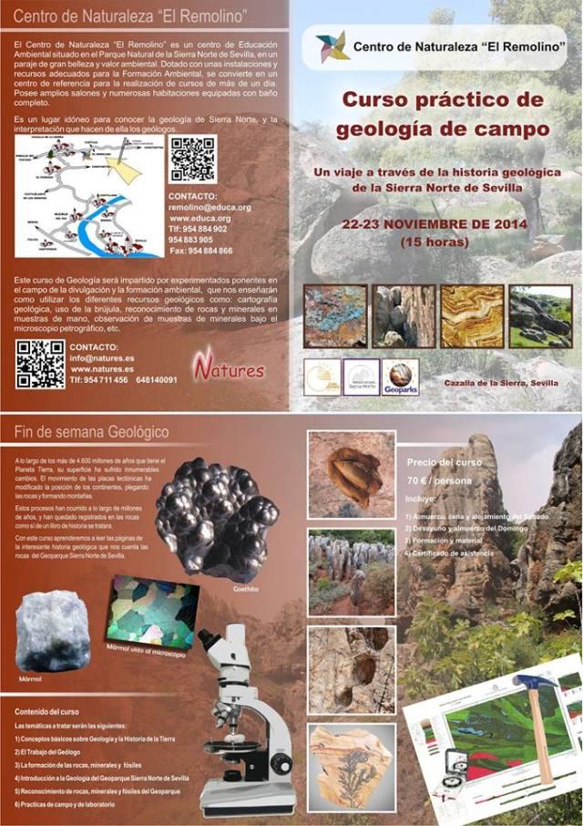 curso geologia