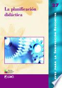 Libro la planificación didáctica