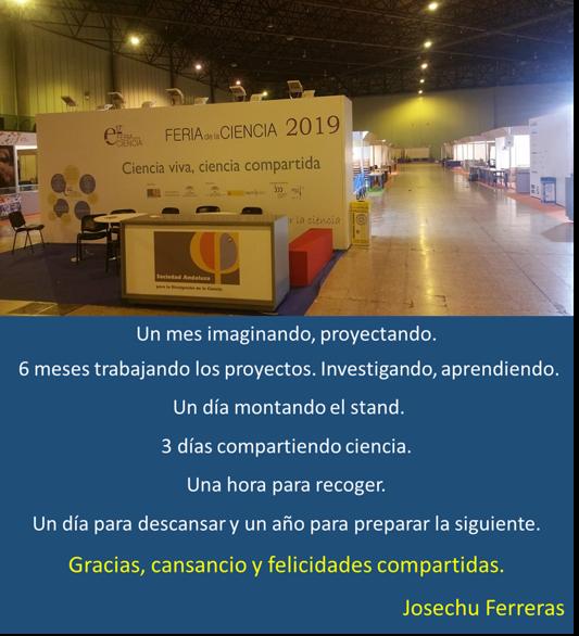 Cierre Feria Ciencia 2019